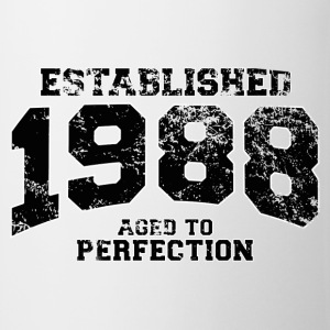 established 1988 - aged to perfection(fr) Tee shirts - Tasse