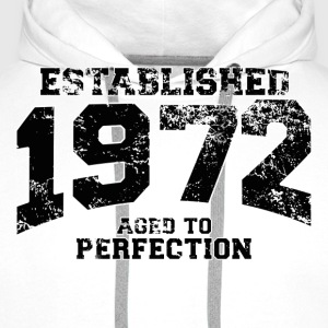 Geburtstag - established 1972 - aged to perfection - Männer Premium Hoodie