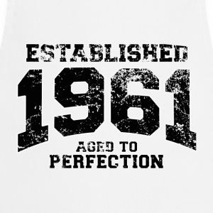 established 1961 - aged to perfection(fr) Tee shirts - Tablier de cuisine