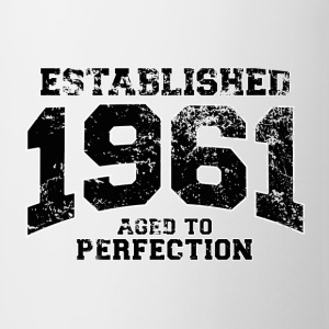 established 1961 - aged to perfection(fr) Tee shirts - Tasse