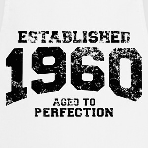 established 1960 - aged to perfection(fr) Tee shirts - Tablier de cuisine