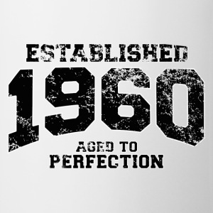 established 1960 - aged to perfection(fr) Tee shirts - Tasse