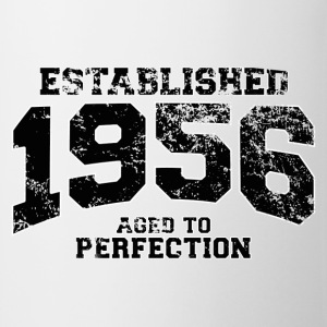 established 1956 - aged to perfection(fr) Tee shirts - Tasse