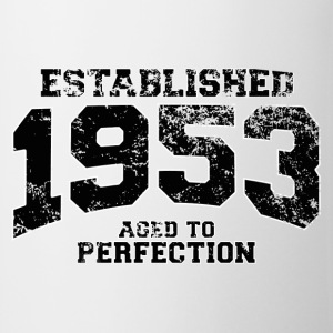 established 1953 - aged to perfection(fr) Tee shirts - Tasse