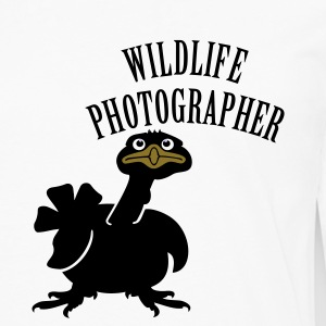 Wildlife Photographer (Text, 1c) T-Shirts - Männer Premium Langarmshirt