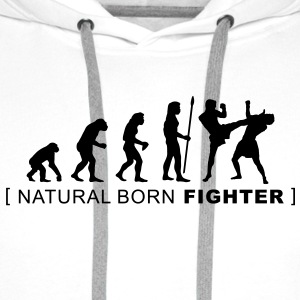 evolution_martialarts T-Shirts - Men's Premium Hoodie