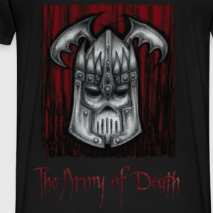 The Army of Death - Herre premium T-shirt