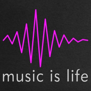 Music is life Pulse / Music is life soundwave Sacs - Sweat-shirt Homme Stanley & Stella