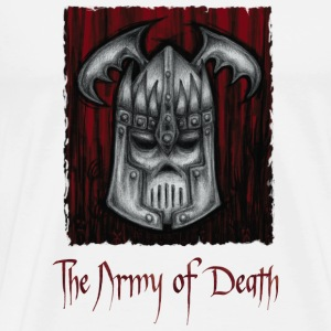 The Army of Death, buttons. - Men's Premium T-Shirt