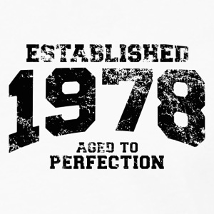 established 1978 - aged to perfection(uk) Polo Shirts - Men's Premium Longsleeve Shirt