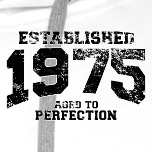 Geburtstag - established 1975 - aged to perfection - Männer Premium Hoodie