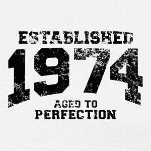 established 1974 - aged to perfection(uk) Polo Shirts - Men's Premium T-Shirt