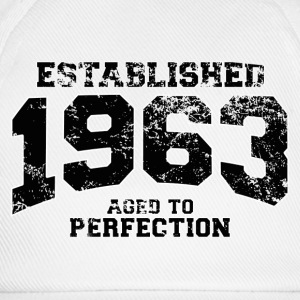 established 1963 - aged to perfection(uk) Polo Shirts - Baseball Cap