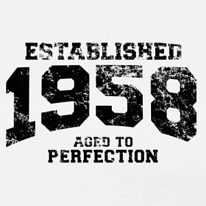 established 1958 - aged to perfection(uk) Polo Shirts - Men's Premium T-Shirt
