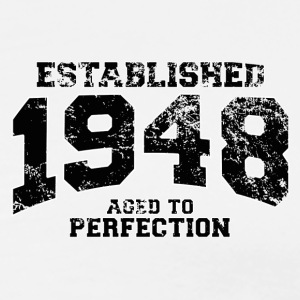 established 1948 - aged to perfection(uk) Polo Shirts - Men's Premium T-Shirt