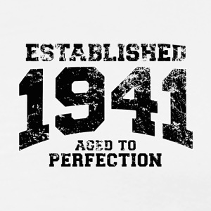 established 1941 - aged to perfection (nl) Poloshirts - Mannen Premium T-shirt