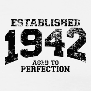 established 1942 - aged to perfection (fr) Polos - T-shirt Premium Homme