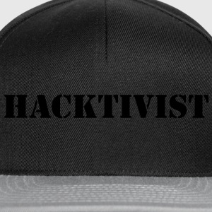## HACKTIVIST ## Tee shirts - Casquette snapback