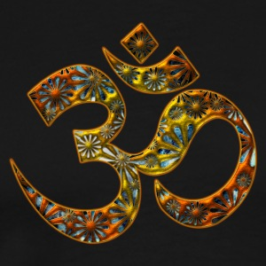 Sacred OM (AUM - I AM), DD, manifestation of spiritual strength, The energy symbol gives , peace and bliss Hoodies & Sweatshirts - Men's Premium T-Shirt