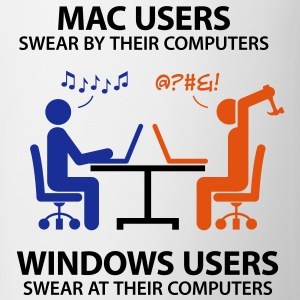 Mac Users 2 (3c)++ T-shirts - Mugg