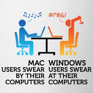 Mac Users 1 (dd)++ T-shirts - Mugg