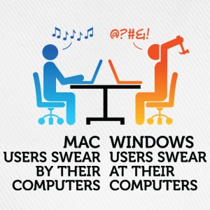 Mac Users 1 (dd)++ Sweaters - Baseballcap