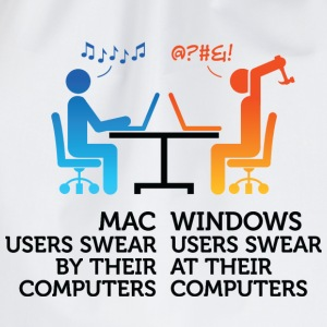 Mac Users 1 (dd)++ Sweat-shirts - Sac de sport léger