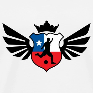 Chile soccer emblem flag Mug - Men's Premium T-Shirt