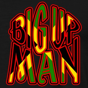 big up man Jackor & västar - Premium-T-shirt herr