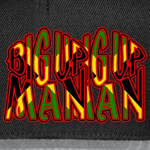 big up man Jackor & västar - Snapbackkeps