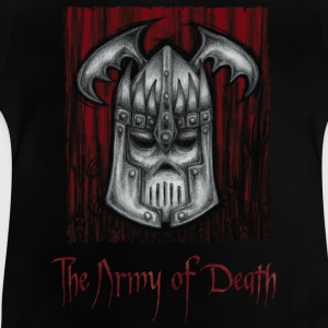 The Army of Death, cover - Baby T-shirt