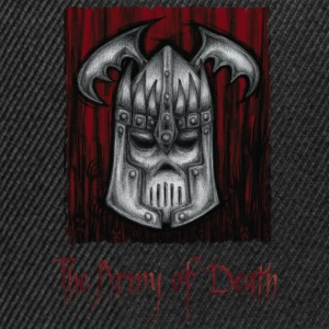 The Army of Death, cover - Gorra Snapback