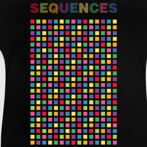 color sequences square - Baby T-shirt