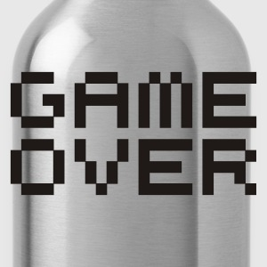 Game over / game over pixels T-shirt - Borraccia