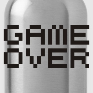 Game over / game over pixels Borse - Borraccia