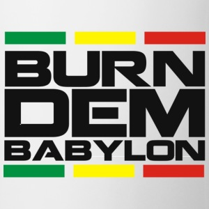 Burn dem babylon - Kubek