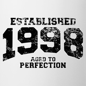 established 1998 - aged to perfection(fr) Tee shirts manches longues - Tasse