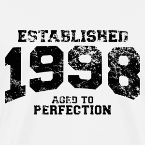 established 1998 - aged to perfection(fr) Tee shirts manches longues - T-shirt Premium Homme