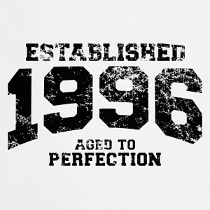 established 1996 - aged to perfection(fr) Tee shirts manches longues - Tablier de cuisine