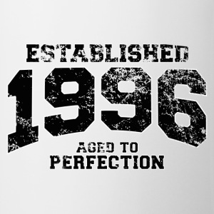 established 1996 - aged to perfection(fr) Tee shirts manches longues - Tasse