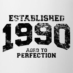 established 1990 - aged to perfection(fr) Tee shirts manches longues - Tasse