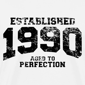 established 1990 - aged to perfection(fr) Tee shirts manches longues - T-shirt Premium Homme