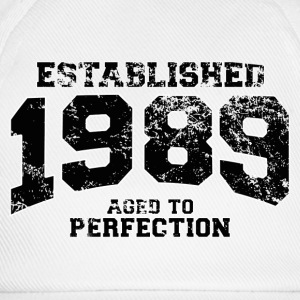 established 1989 - aged to perfection(fr) Tee shirts manches longues - Casquette classique
