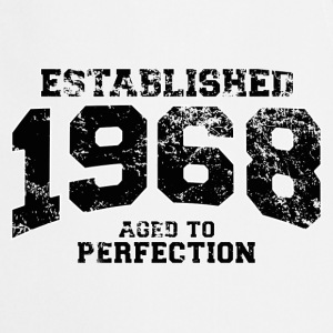 established 1968 - aged to perfection(fr) Tee shirts manches longues - Tablier de cuisine