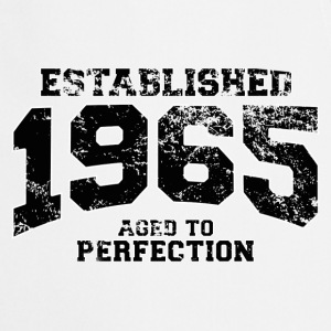 established 1965 - aged to perfection(fr) Tee shirts manches longues - Tablier de cuisine