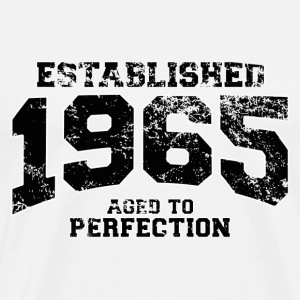 established 1965 - aged to perfection(fr) Tee shirts manches longues - T-shirt Premium Homme