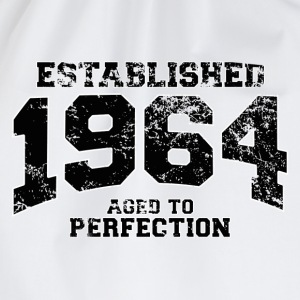 Geburtstag - established 1964 - aged to perfection - Turnbeutel