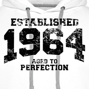 Geburtstag - established 1964 - aged to perfection - Männer Premium Hoodie