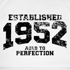 established 1952 - aged to perfection(fr) Tee shirts manches longues - Casquette classique