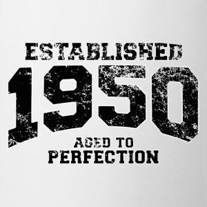established 1950 - aged to perfection(fr) Tee shirts manches longues - Tasse